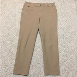 White House Black Market Khaki Colored Dress Pants